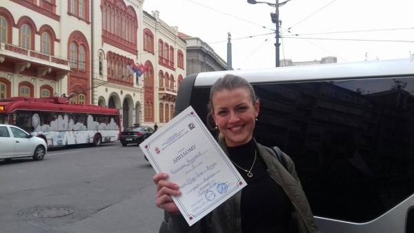 Nikoleta Nešković druga na republičkom takmičenju iz nemačkog jezika