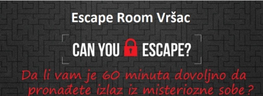 Escape Room i u našem gradu!